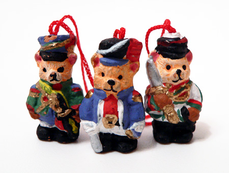 Teddy Soldiers on parade - Dec 2005