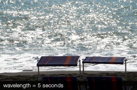 Roar of the surf on Ischia