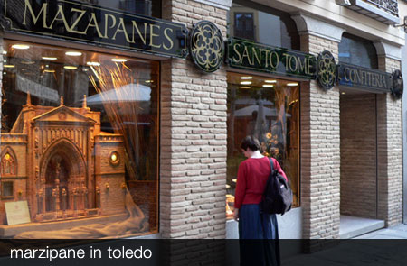 Marzipan shop in Toledo